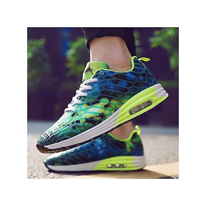 Fashion 2017 2017 Fashion New Air Cushion Running Shoes For   Breathable Sport Shoes   Sneaker - Green à prix pas cher  | Jumia Maroc 65fb1d