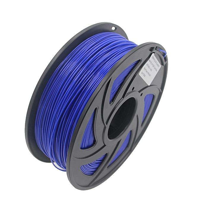 GENERAL Pla Filament 3D Printer Material Pla Filament 1.75mm Diameter Printing Material Supply 3D Printers 1Kg(2.2Lb)  Spool(Dark bleu) à prix pas cher