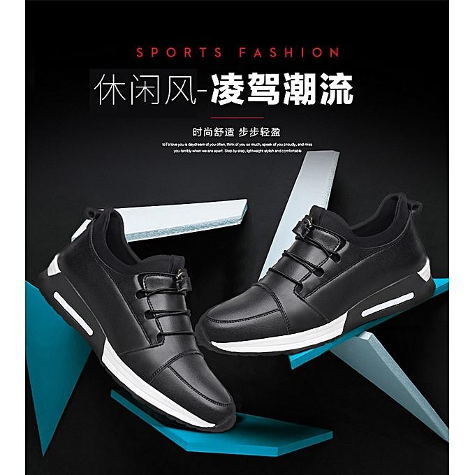 Fashion Men's spring sports chaussures chaussures student running chaussures-noir à prix pas cher    Jumia Maroc