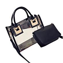 42f0659bdc80e Fashion Women Transparent Shoulder Bag Jelly Candy Beach Handbag Messeng Bag  BK