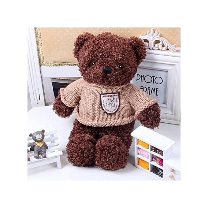 Autre Record & Speak Talking Teddy Bear with 30 Second Audio Memory Storage Personalized Plush Stuffed Toy Baby & Growups Playmate(Dark marron) à prix pas cher