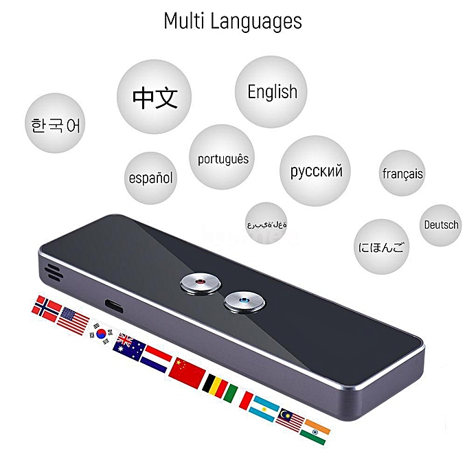 Other Portable Lightweight Translator 30+ Languages 2-way Instant Translate High Recognition Ability Long-time Use Voice Translation 3 DJLAB à prix pas cher
