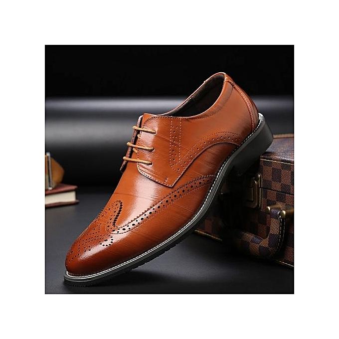Générique   Générique 's Business Casual Leather Shoes à prix pas cher  | Jumia Maroc e2479f
