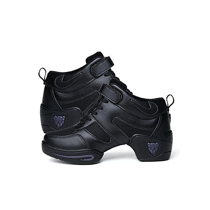 Fashion UJ femmes Gym chaussures Fitness Footwear Ladies Dance Jazz Sports-noir à prix pas cher    Jumia Maroc