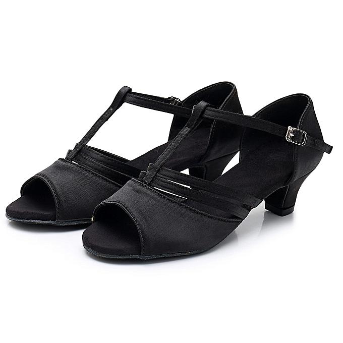 Fashion TEC femmesDancing Rumba Waltz Prom Ballroom Latin Salsa Dance chaussures Sandals à prix pas cher