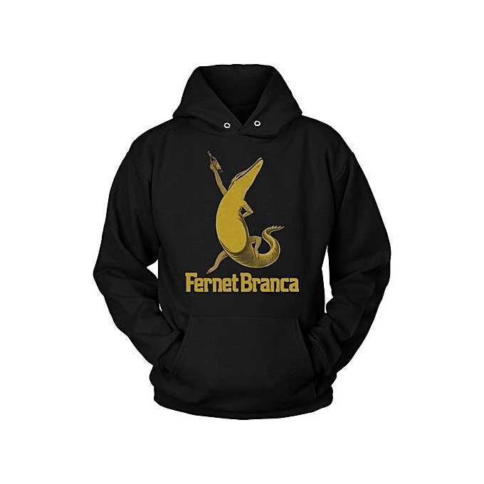 Generic Fashion Hot Fernet Branca Crocodile Alligator Drink Unisex Hoodie à prix pas cher