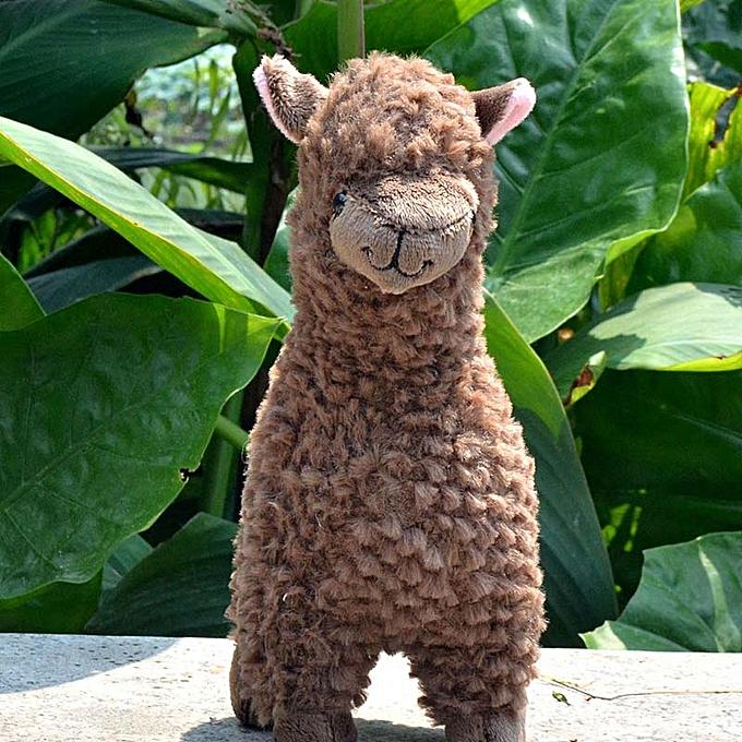 Autre Simulation Alpaca Llama Plush Toy Doll  23cm  Animal Stuffed Animal Dolls Japanese Soft Plush Alpacasso For Kids Birthday Gifts(NO 2) à prix pas cher