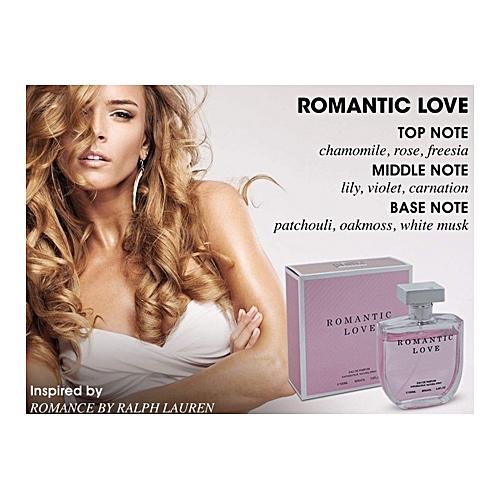 aa12308f335eba Commandez Générique Romantic Love 3.4 oz Eau De Parfum Spray Pour ...