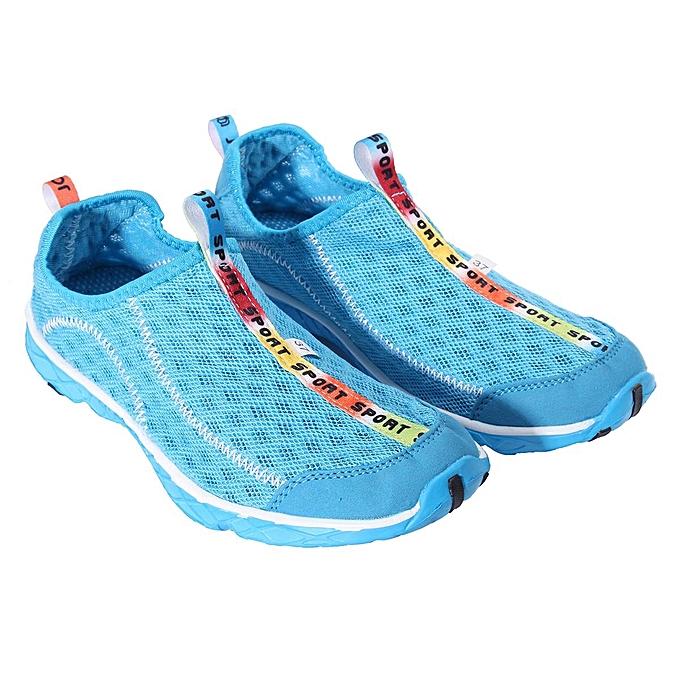 Fashion Fashion Mens femmes Sport chaussures Mesh Beach Swim Dance Yoga Aqua Outdoor Casual baskets-EU à prix pas cher    Jumia Maroc