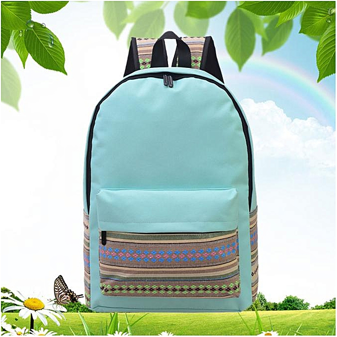 OEM Unisex Vintage toile sac à dos sac à dos School Satchel Hiking sac Booksac GN à prix pas cher