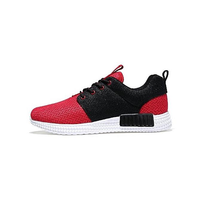 Fashion 2017 Winter Mesh Feature Waterproof Chaussure Homme For Walking chaussures Pantoufles Deporte Cottson chaussures-rouge à prix pas cher