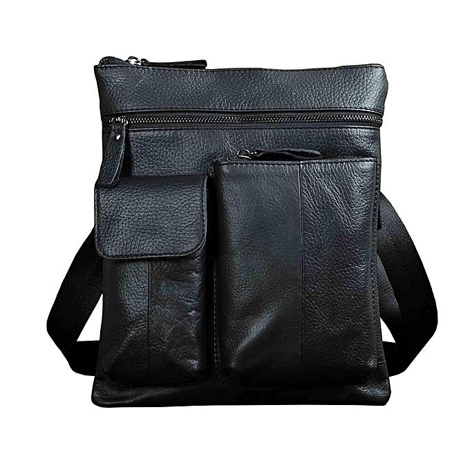 Other cuir Male Design Shoulder Messenger sac Décontracté mode Cross-body sac 10  Tablet School University College sac 308b(noir) à prix pas cher