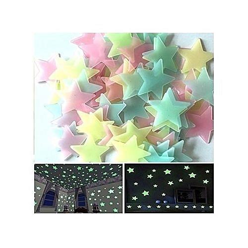 Pack étoiles lumineuses pour chambre coucher decoration