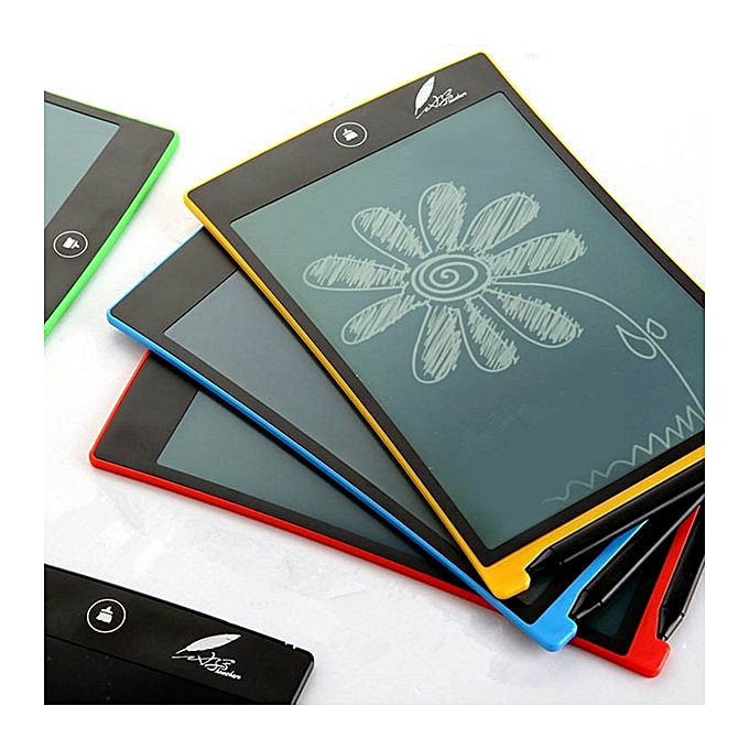UNIVERSAL Howshow 8.5inch E-Note Paperless LCD Writing Tablet Office Family School Drawing Graffiti Toy Gift-noir à prix pas cher