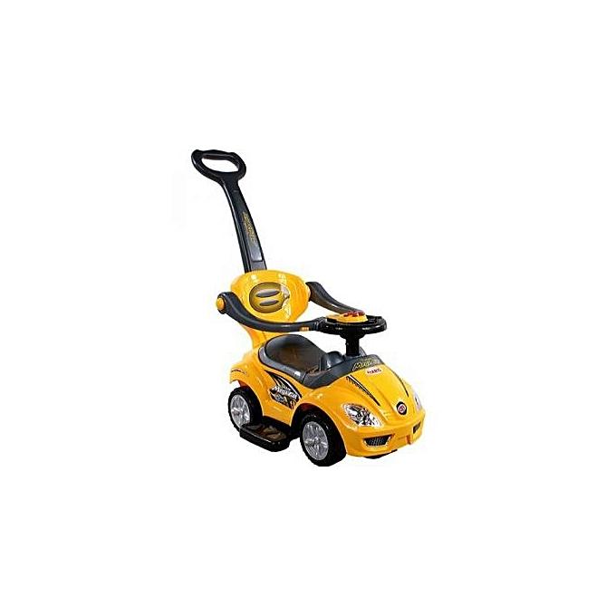 Generic Baby car - jaune à prix pas cher