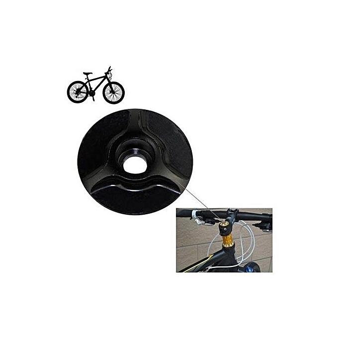 UNIVERSAL Bicycle CNC Aluminum Bike Headset Cap 28.6mm Sunflower Stem Top Cover à prix pas cher