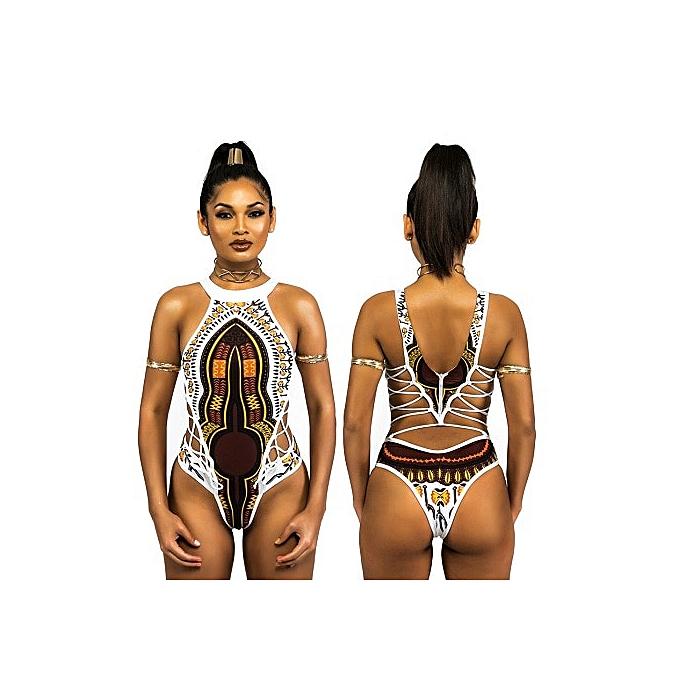 Autre maillot de bain femmes African Print maillot de bains Floral Bikini Swimming Body Suit maillot de bain For femmes Thong maillot de bain femmes(A1) à prix pas cher