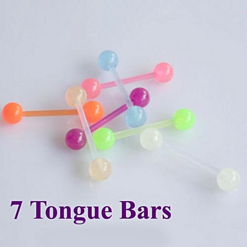 20 pcs mixte langue anneau corps piercing bijoux tounge for Accessoire chambre bebe