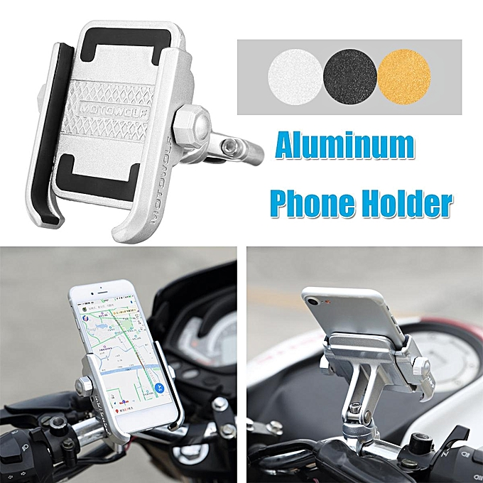 Motorcycle Universal Handlebar Aluminum Bicycle Phone ZuOiwPkXTl