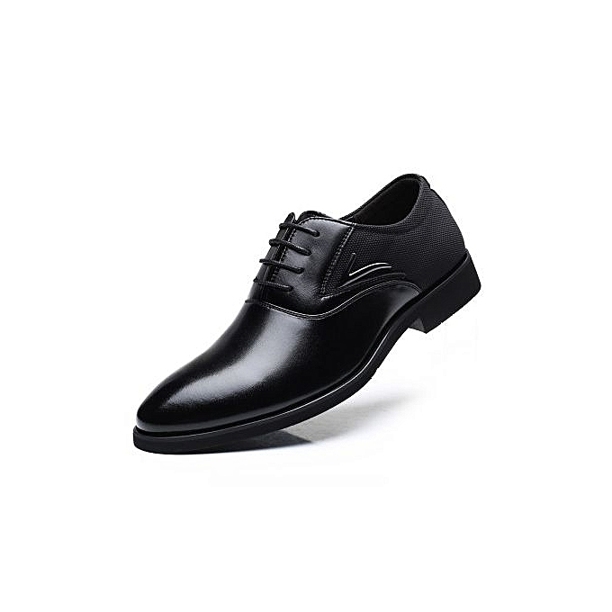 Fashion  's Shoes Shoes 's  's Large Size Business Casual Shoes British Fashion  's Shoes-BLACK à prix pas cher  | Jumia Maroc 046925