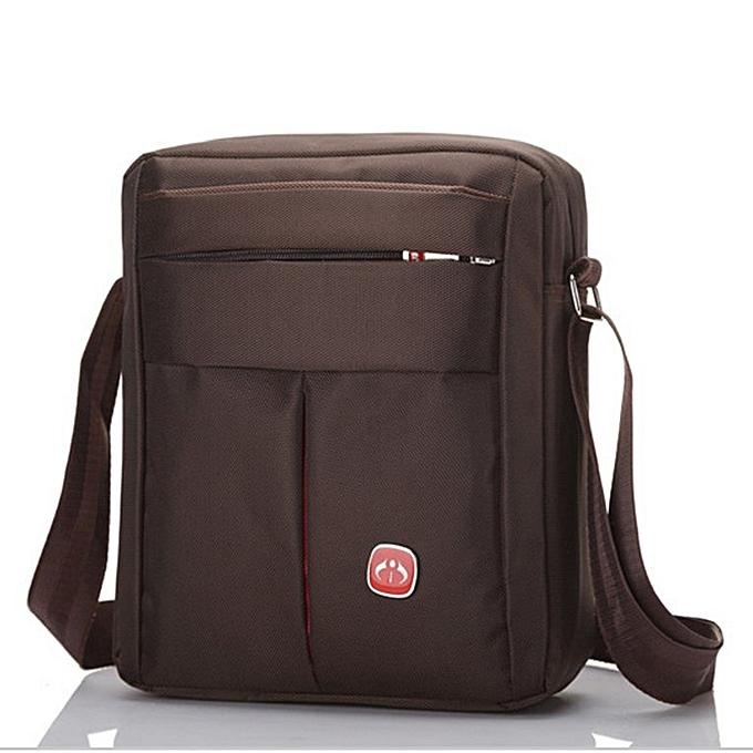 Generic imperméable Oxford Cloth sac Vertical Single Shoulder été sac bandoulière sac marron à prix pas cher