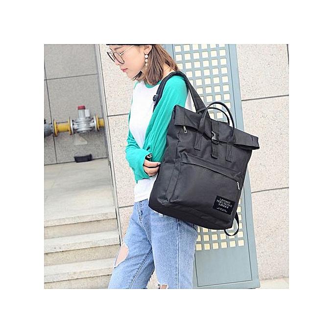 mode Tectores Wohommes mode Nylon Handsac School sac voyage sac à dos sac BK à prix pas cher