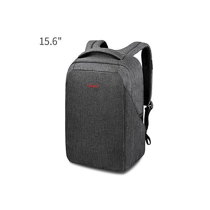 Generic Anti-thief 15.6 Laptop sac à dos USB computer sac à dos for male sacpack  noir à prix pas cher
