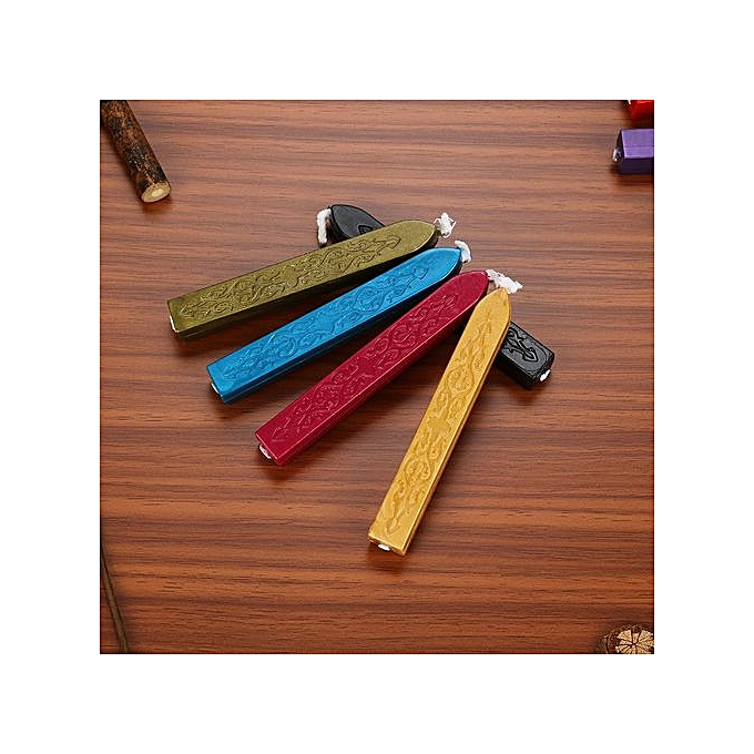 Generic Trend 26Pcs Vintage Manuscript Sealing Seal Wax Sticks Wicks For Postage Letter à prix pas cher