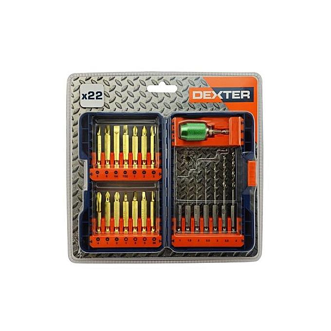 Coffret De 22 Forets Spécial Métal Embouts De 1 à 4mm