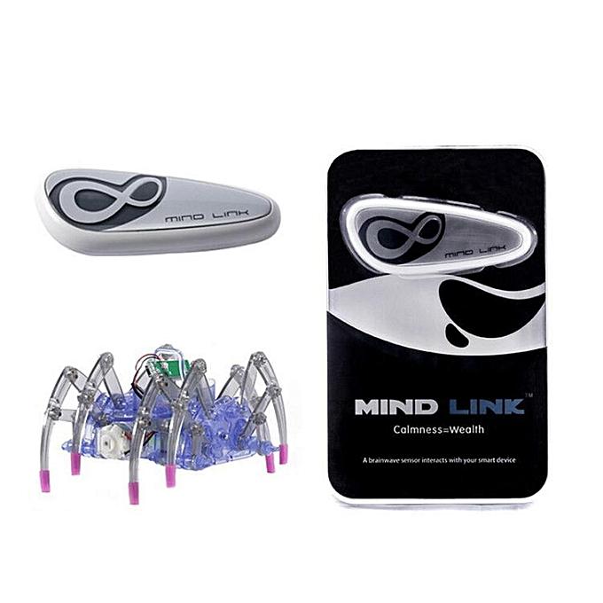 Autre Jouets éducatifs pour enfants Brain Radio Wave Idea Control Contrôle DIY Spider Intelligence Robot Jouets Détecteur de vague du cerveau  1 + Toy Spider  1 à prix pas cher