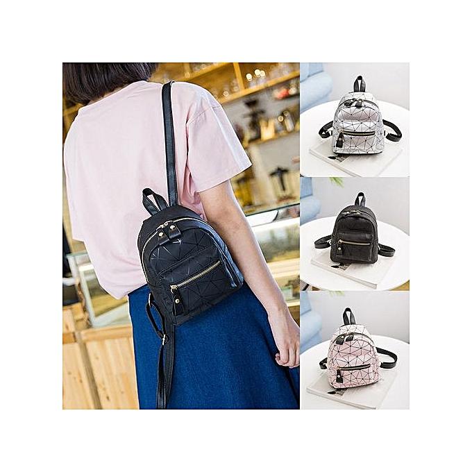 Generic Fashion Girl Splice School Bag Backpack Satchel femmes Trave Shoulder Bag à prix pas cher
