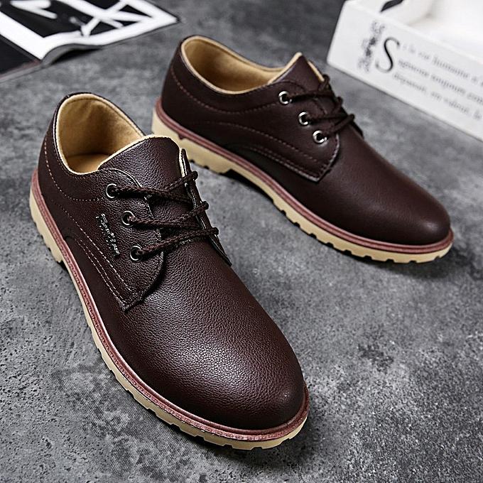Fashion Men's waterproof breathable casual chaussures - marron à prix pas cher    Jumia Maroc