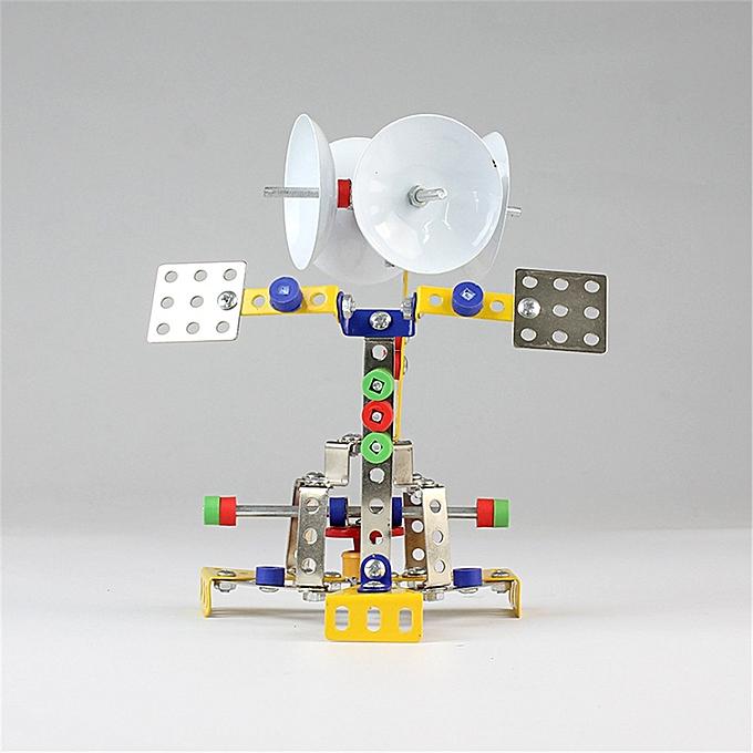 UNIVERSAL MoFun Metal Blocks Space Shuttle Receiving Station Model DIY Toys 126 PCS With Tools- à prix pas cher