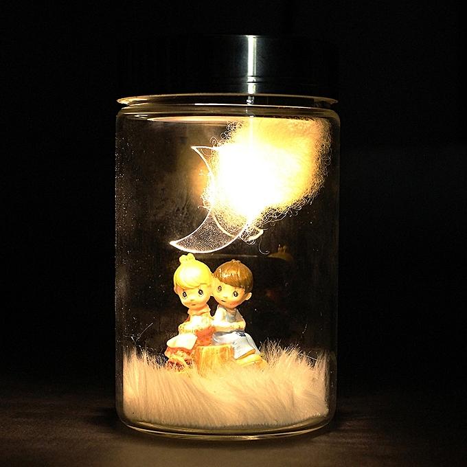 UNIVERSAL Valentine's Day Solar Power Charging Pot Decoration Gift Toy- à prix pas cher