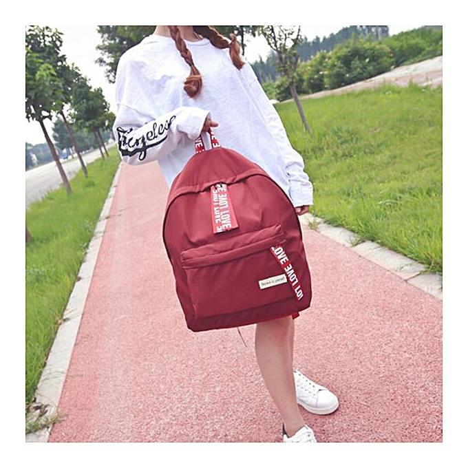 OEM Girls garçons Letter School sac voyage sac à dos Satchel femmes Shoulder sac à dos RD à prix pas cher