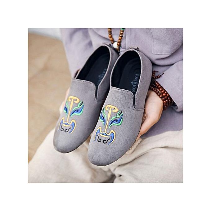 OEM New hommes casual chaussures tide chaussures peas chaussures-gris à prix pas cher    Jumia Maroc