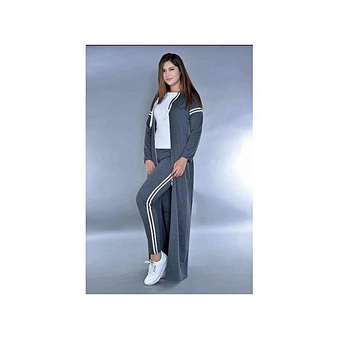9cfe48a023afb Générique لباس رياضي بسترة طويلة