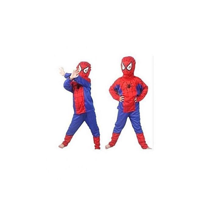 93e501015263a Spider Man Déguisement Spiderman à prix pas cher