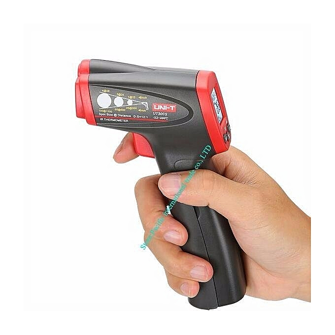 UNIVERSAL UNI-T UT300S Non-Contact Laser Infrarouge Digital IR Thermometer Industrial LCD With Back Light -32- 400 Degree Centigrade à prix pas cher