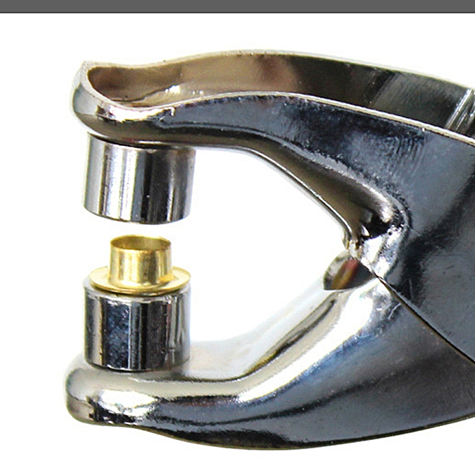 Autre New 1Pcs Random Delivery Setting Rivets Pliers Tool + 100pcs Eyelets Grommets for chaussures Bags Leather Belt à prix pas cher