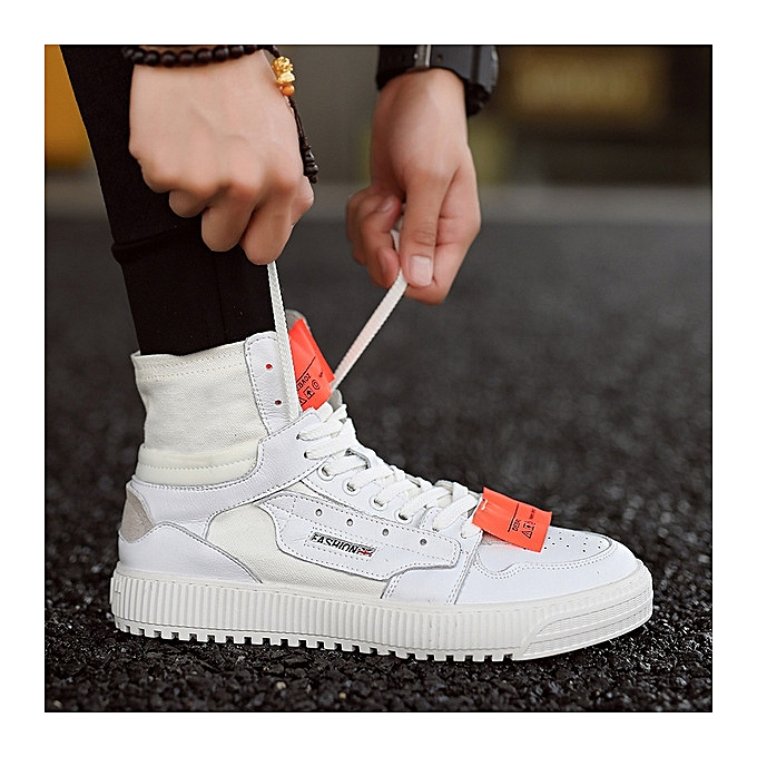 OEM chaussures hommes wild hommes chaussures breathable hommes casual canvas hip-hop chaussures-blanc à prix pas cher