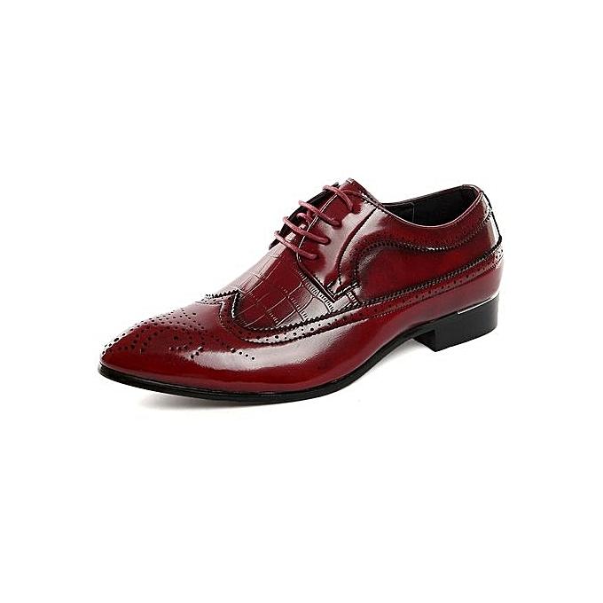 HT  's  s s  Plus Size Bullock Leather Shoes à prix pas cher  | Jumia Maroc 3788fc