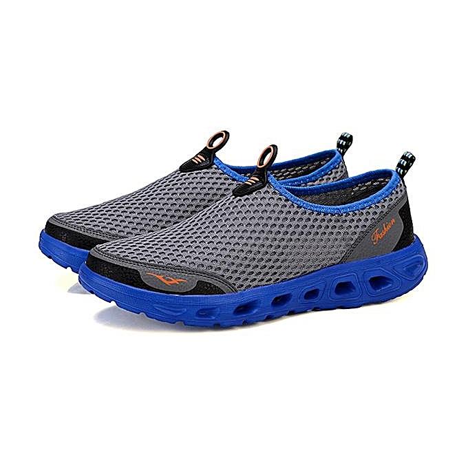 Fashion Fashion Men Hollow Out Casual Sport chaussures In Mesh baskets chaussures-EU à prix pas cher    Jumia Maroc