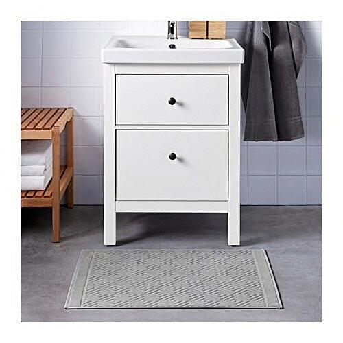 Ikea Tapis De Bain Gris Jacquard 50x80 Cm A Prix Pas Cher Jumia