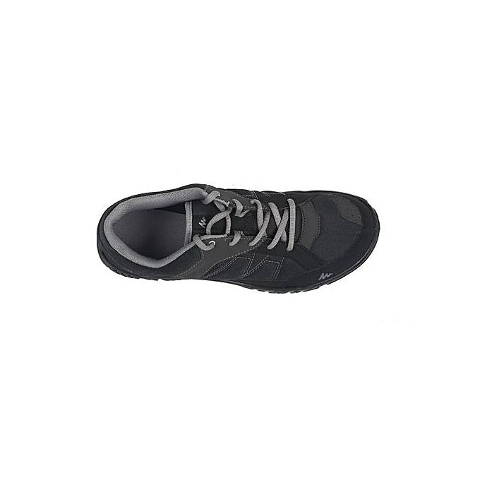 3092696f0 Quechua أحذية المشي لمسافات طويلة الطبيعة NH100 الرجال السود | جوميا ...