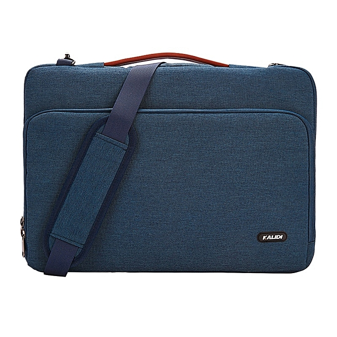Other KALIDI imperméable Affaires handsacs for 13.3 14 15.6inch Laptop sac Messenger Handsac for Macbook Dell HP Asus Acer computer sac(bleu) à prix pas cher
