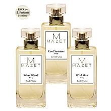 7ecba7d09 Pack de 3 Parfums Dior Homme - 20% de concentration - 50 ml