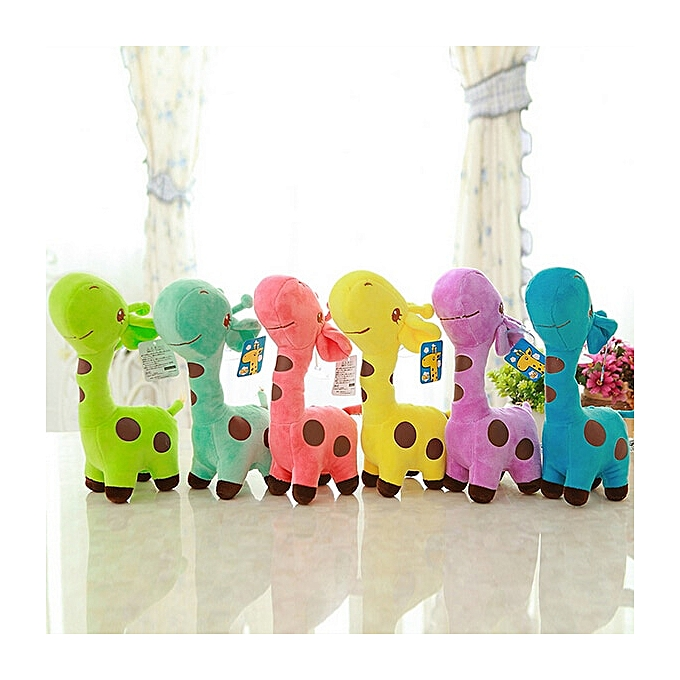 Autre 18cm Cute   Toys  Giraffe Plush Toys Dolls For Enfants Brinquedos Kawaii Gift For   Christmas Gifts(vert) à prix pas cher