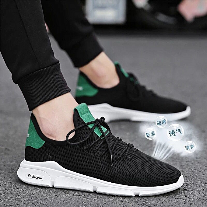 Fashion Casual sports chaussures hommes mesh breathable running chaussures vert à prix pas cher    Jumia Maroc