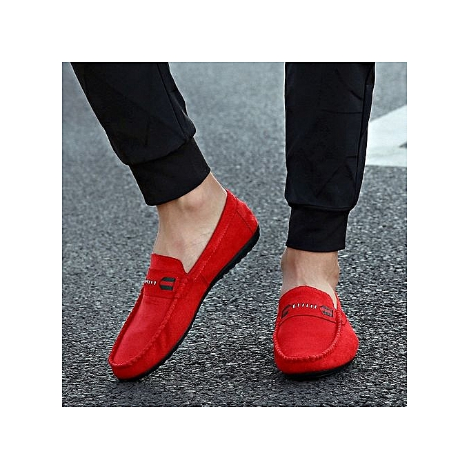 Zant Genuine Leather Loafers    's Casual Business Moccasins Shoes à prix pas cher  | Jumia Maroc 2733af